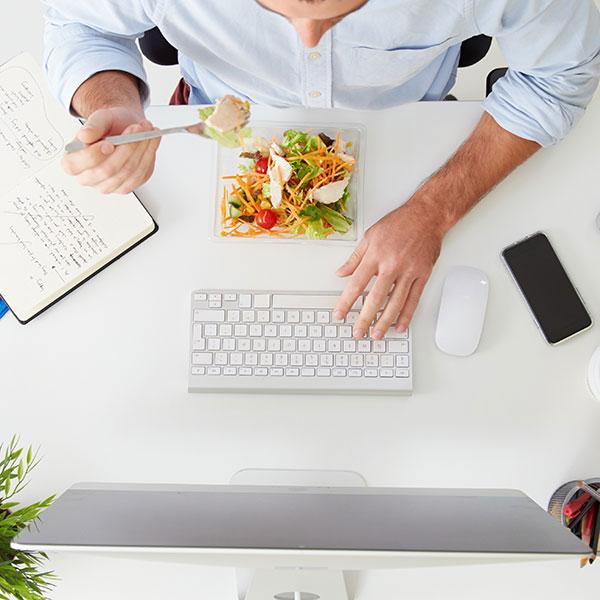 Mittagessen Büro Unternehmen