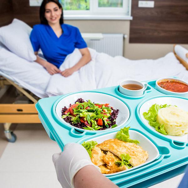 Verpflegung für Spital Krankenhaus